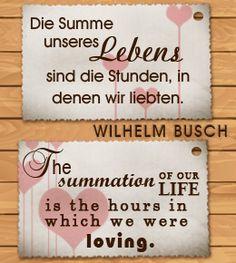 I love you in German