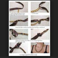#necklace #diy