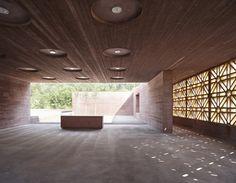 Gallery Of Islamic Cemetery In Altach / Bernardo Bader   1