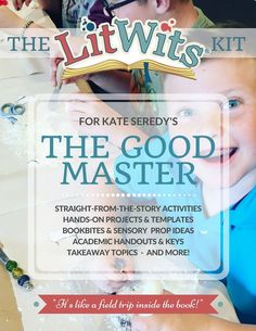 Have straight-from-the-story fun with Kate Seredy's THE GOOD MASTER! Make this great book real in hands-on, multisensory ways that teach great things. This digital LitWits Kit includes projects, activities, prompts, links, handouts and lots more! (As a member for just $9/month, you could choose this as one of your FREE monthly LitWits Kits.)