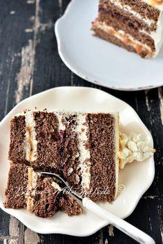 Easy Cake Recipes, Dessert Recipes, Desserts, Food Cakes, Cupcake Cakes, Salted Caramel Cake, Dessert Sauces, Christmas Treats, No Bake Cake