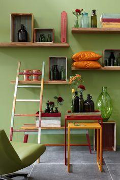 kleur muur groen - Google zoeken