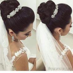 """Amei, beleza feita por @renatapintobelezaria<span class=""""emoji emoji1f497""""></span><span class=""""emoji emoji1f60d""""></span><span class=""""emoji emoji1f470""""></span> #wedding #weddinginspiration ..."""