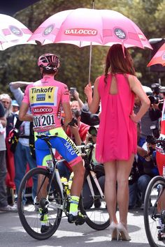 Contador: I've worked too hard to just go home! Alberto Contador gets ready for his first day in the pink jersey since 2011