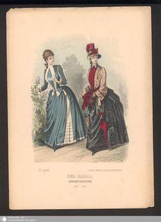 210 - Illustration Der Bazar, Illustrirte Damen-Zeitung. Mai 1886. - Der Bazar - Page - Digitale Sammlungen - Digital Collections
