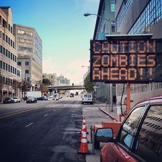 For the Zombie Run in San Francisco