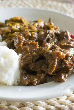 Indonesische Rendang naar het recept van mijn (indo) vriend!