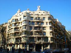 Дом Мила (Каса Мила), архитектор Антонио Гауди, Барселона