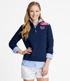 Buy Rose Print Shep Shirts & Pullovers for Women | Vineyard Vines®