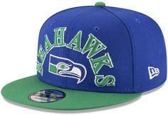 New Era Seattle Seahawks Retro Logo 9FIFTY Snapback Cap Men - Sports Fan  Shop By Lids - Macy s ea551237531d