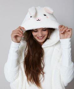 Rabbit poncho - OYSHO