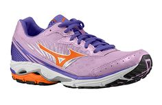 """Fitness expert Lacey Stone loves the Mizuno Wave Rider Running Shoes ($115)?  Shr says that running in these shoes """"makes her feel like she is floating on air."""""""