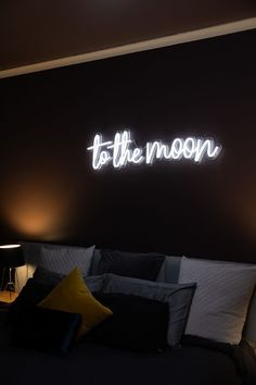 Neon collective is available to create, easy to design, trend neon. - Neon collective is available to create, easy to design, trend neon. Neon collective light up your l - Neon Lights Bedroom, Neon Sign Bedroom, Bedroom Decor, Bedroom Red, Bedroom Signs, Bedroom Lighting, Custom Made Neon Signs, Custom Light Up Signs, Diy Neon Sign
