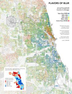 Chicago income map