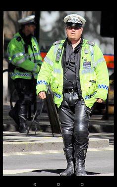 Cops, Leather Men, Punk, Bike, Style, Fashion, Bicycle, Swag, Moda