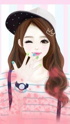 彼岸花。IPhone壁纸,韩国,唯美,手绘。 - 堆糖 发现生活_收集美好_分享图片