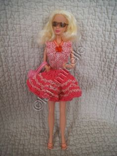 Free barbie tutorial: body and skirt shape for a chic outfit