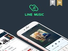 "Check out this @Behance project: ""LINE MUSIC App"" https://www.behance.net/gallery/31355357/LINE-MUSIC-App"
