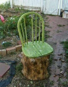 16 kreative DIY-Ideen für alte Baumstämme zu Hause… Ich mach' noch heute Nummer 5! - DIY Bastelideen