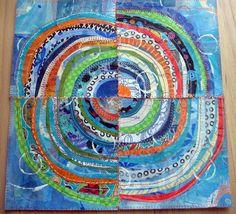 blue and orange | JaneVille.blogspot.com MY latest recycled … | Jane LaFazio | Flickr