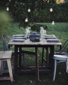 Anna Kubel - GARDEN DINNER. http://annakubel.se/2016/october/garden-dinner.html