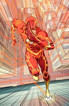 Flash cover by Neil Googe... MEEEEEEE ;)
