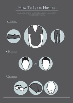 Male Styling Instruction Manual on Behance