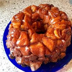 "Maple Bacon Monkey Bread | ""Sweet and salty monkey bread with a delicious twist - bacon!"""