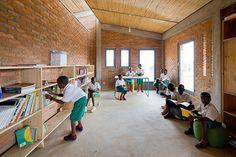 MASS design group: umubano primary school, kigali, rwanda