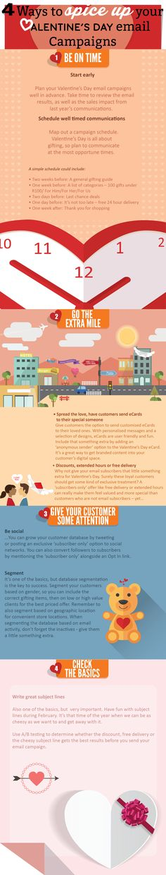 Check out our Valentine's Day Infographic. There are some great tips that will help you plan your Valentine's Day email marketing campaigns. http://striata.at/1zy0XBa