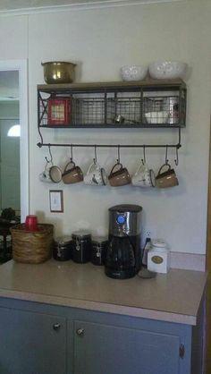 Coffee bar from hobby lobby
