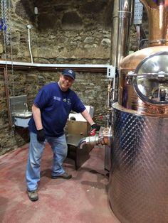 This is Dale McQueen hand crafting Gin
