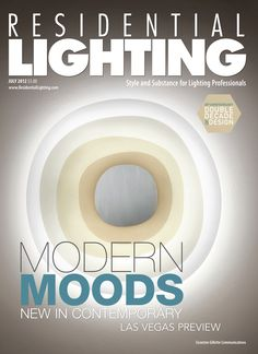 Residential Lighting, Wall Fixtures, Ceiling, Urban, Magazine, Digital, Cover, Collection, Wall Lamp Shades