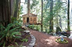 Whimsical Treehouse Point Getaway in Issaquah, WA (6)