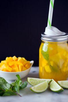 Sweet Mango Green Tea Image