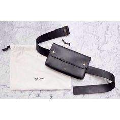 Fashion Gone rouge Leather Fanny Pack, Leather Belt Bag, Celine Belt Bag, Clutch Bag, My Bags, Purses And Bags, Fashion Gone Rouge, Waist Pouch, Prada