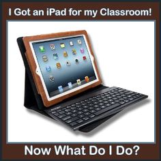 Did you recently get an iPad for school use, and you're not sure where to start?  Here is the first of a series of iPad posts for the beginner, via Shut the Door and Teach