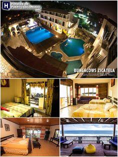 BUNGALOWS ZICATELA Puerto Escondido, Oaxaca, México. mas información: http://www.hotelesdepuertoescondido.com/bungalowszicatela.html #puertoescondido #oaxaca #hoteles
