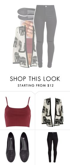 Did you sleep on the wrong side I'm catching a bad vibe by fashionstar-482 on Polyvore featuring River Island, New Look and H&M