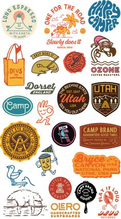 Fried Cactus Studio – Expolore the best and the special ideas about Retro logos Graphic Design Typography, Graphic Design Illustration, Branding Design, Vintage Graphic Design, Retro Illustration, T Shirt Graphic Design, Logo Vintage, House Illustration, Badges