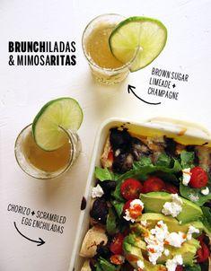 Inspired! Brunchiladas and Mimosaritas.