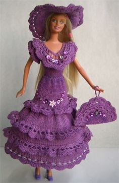 Costumes for Barbie dolls