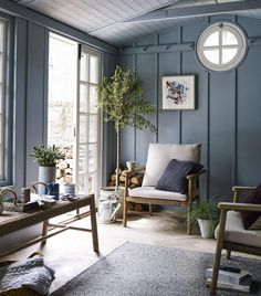 The John Lewis design team has worked with the Crafts Council to identify British designer makers who have created products for the new autumn range house conversion house ideas house interior house interior floor plans house interior small house plans Shed Interior, Interior Design, 1930s House Interior, Country Interior, Summer House Interiors, Coastal Bedrooms, Rustic Bedrooms, Living Spaces, Living Room