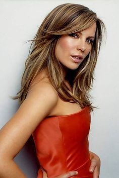 kate Beckinsale (loveee her hair color)