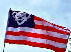 Wave that flag, Wave it wide and high! This flag is 3 foot by 5 foot 2 metal grommets are in place for easy attachment to a flag pole The flag is made out of 100d Knit Polyester so it waves with the l