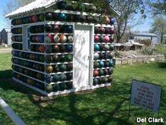 Bowling Ball shed!