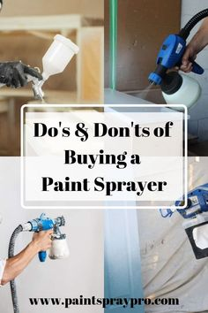 Stop wondering how to choose a paint sprayer and use our painting tips and tricks to paint your next DIY project. For DIY tips and tricks, all the advice you need is here. Latex Paint Sprayer, Hvlp Paint Sprayer, Best Paint Sprayer, Using A Paint Sprayer, Paint Sprayers, Interior Paint Sprayer, Painting Walls Tips, Painting Cabinets, Diy Painting