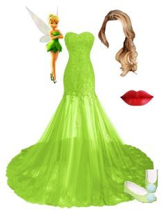 """""""formal tinkerbell"""" by marshmallowkisses on Polyvore"""