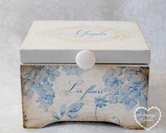 Pudełko - Memory box na 18. urodziny