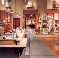 Design Ideas: Retail Spaces - Concrete Countertops in a Pottery Barn